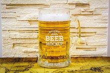 Beer Bottle Label Mock-up#19