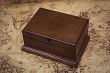 Wood Box Mock-up#5