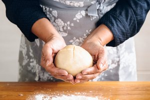 Making little bread