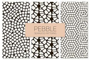Pebble. Seamless Patterns Set 2