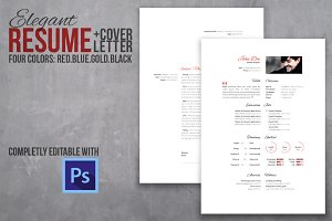 Resume and cover letter set