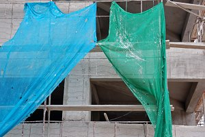 Construction Ragged Netting