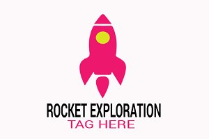 Rocket Exploration Logo