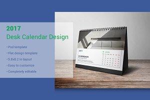 2017 Desk Calendar Design