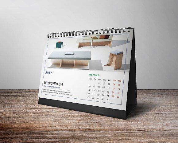 Great Calendar Design : Desk calendar design ideas