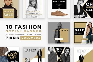 Fashion Social Banner Pack 3