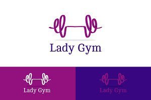 Lady Gym Logo