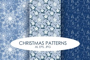 Christmas Patterns Bundle