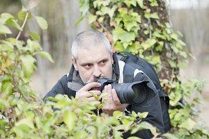 Wild photographer.