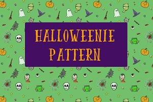 Halloweenie Pattern