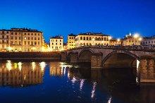 Bridge and house. Florence