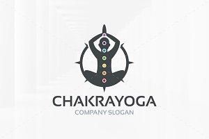 Chakra Yoga Logo Template