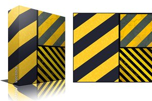 Hazard Lines Backgrounds Vector