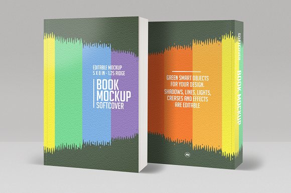 Download Book Mockup Softcover