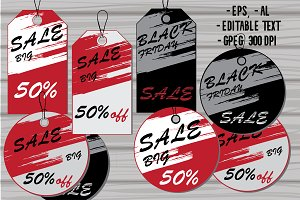 SALE Tag Set (vector)