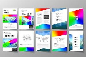 A4 format brochures v.30