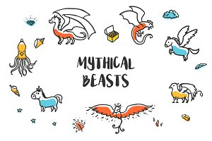 Mythical beasts collection