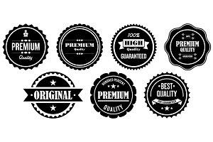 14 Premium Quality Labels