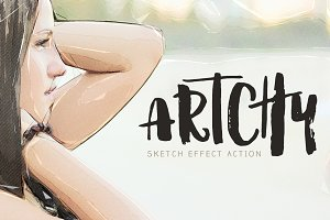Artchy - Sketch Effect Action