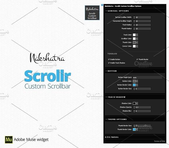 Scrollr- Adobe Muse Widget