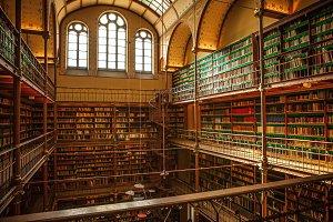Library of Rijksmuseum, Amsterdam.