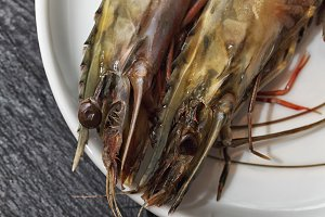 Raw Giant Prawns