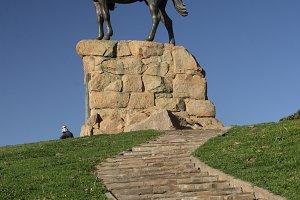 The Rider in Windhoek