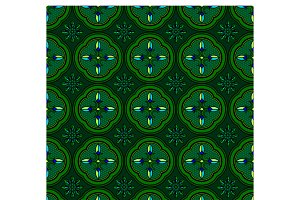 Seamless pattern green abstract
