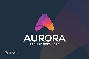 AURORA / Letter A - Logo
