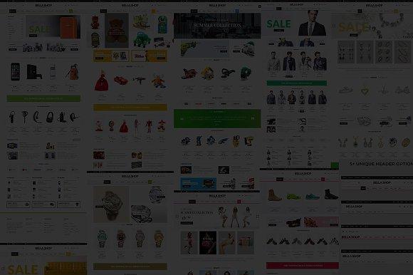 BellaShop - Ecommerce Opencart Theme