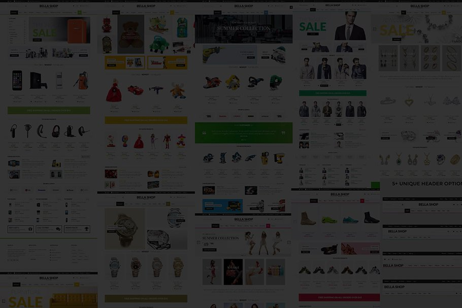 BellaShop - Ecommerce Opencart Theme