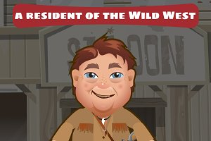 Resident of the Wild West, character