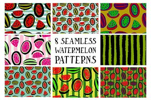 Set of patterns from watermelon