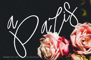 A Paris Handwritten Font