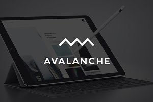 Avalanche PSD Website Template