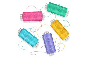 Thread Spool Set Background
