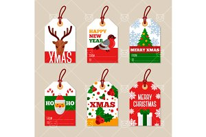 Christmas tags 6