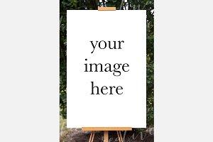 Poster Mockup Portrait #0757