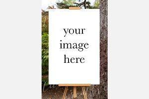 Poster Mockup Portrait #0762