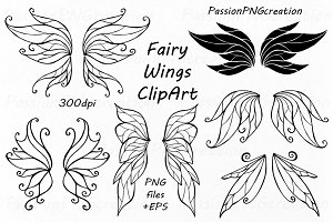 Fairy Wings Clipart