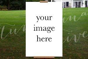 Poster Mockup Portrait #0803