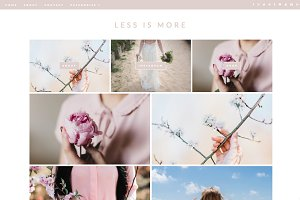 "Wordpress Theme ""Less Is More"""