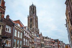 Ancient church. Utrecht - Holland.