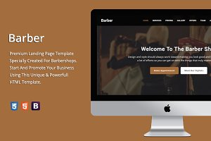 Barber - Premium HTML Template