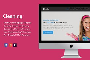 Cleaning - Premium HTML Template