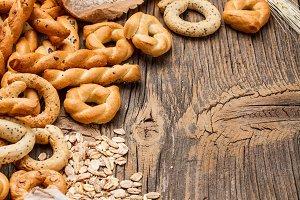 Dry pretzel