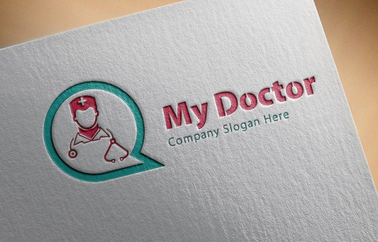 My Doctor Logo ~ Logo Templates ~ Creative Market