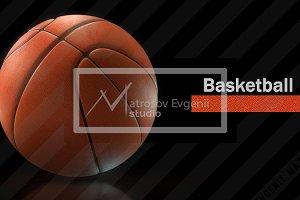 Basketball. High-resolution image