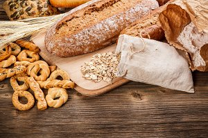 Tasty rye bread