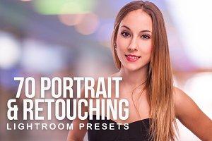 70 Portrait & Retouching Presets